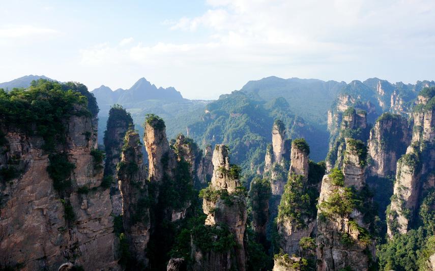 Лесной парк Чжанцзяцзе