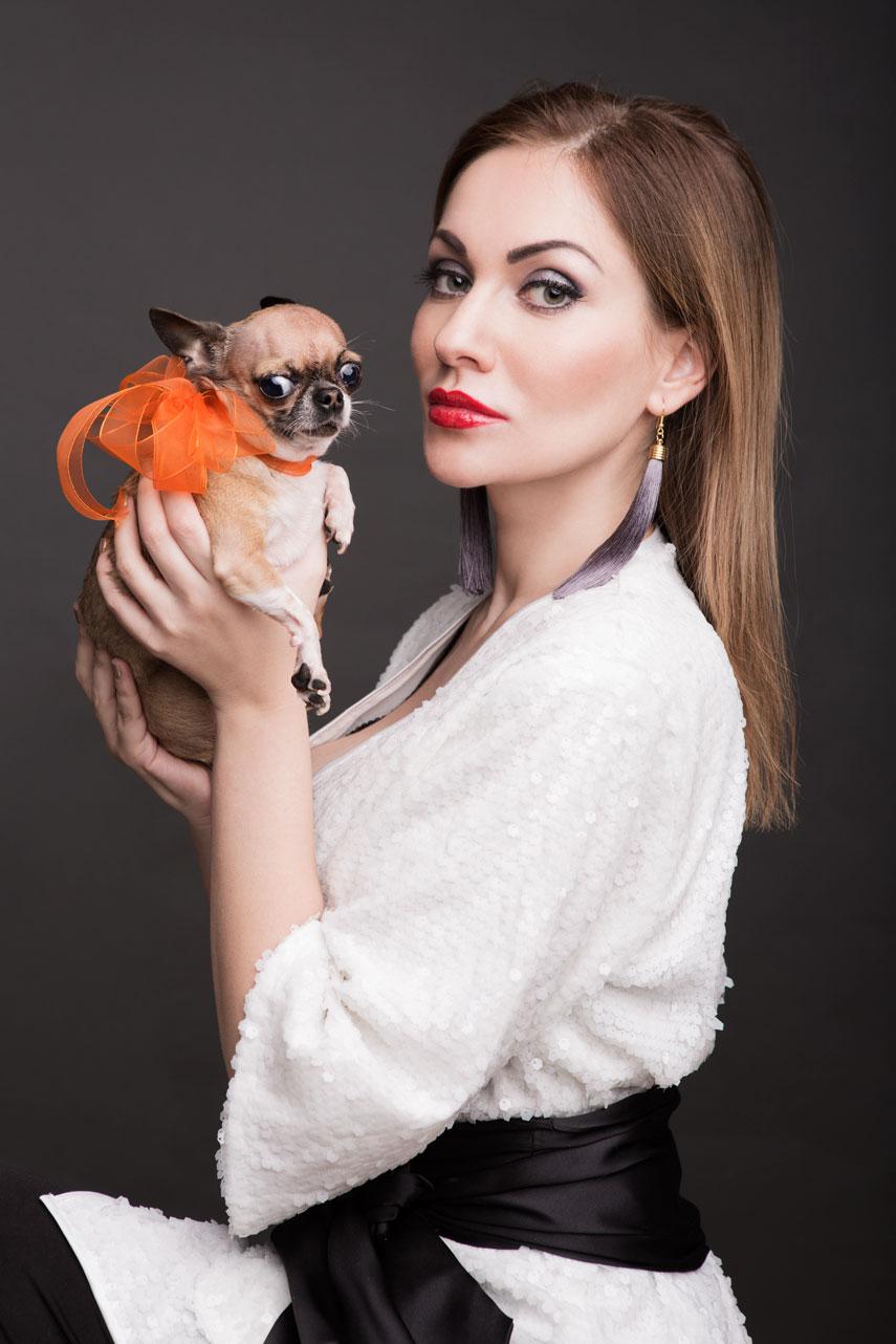 Анна Лобарева и Вивьен