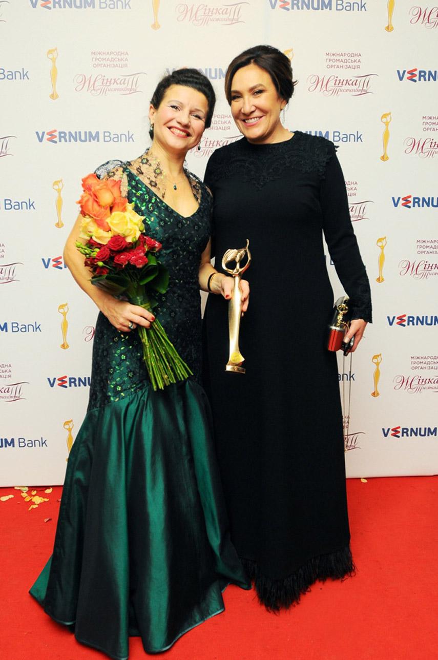 Виктория Лукьнец и Лидия Лисимова