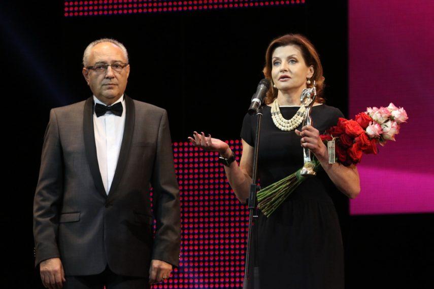 Александр Злотник и Марина Порошенко