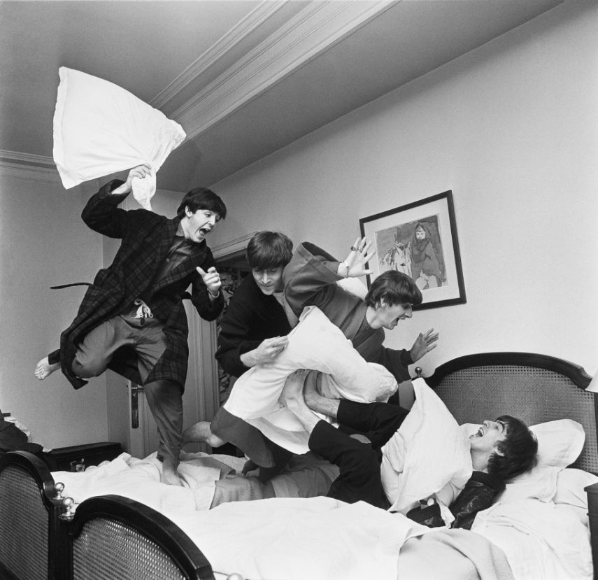 The Pillow Fight, Photograph By Harry Benson, 1964