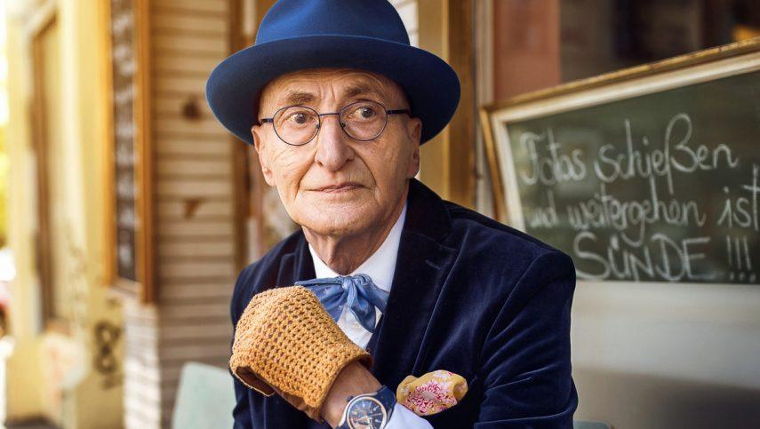 Самый стильный пенсионер Берлина