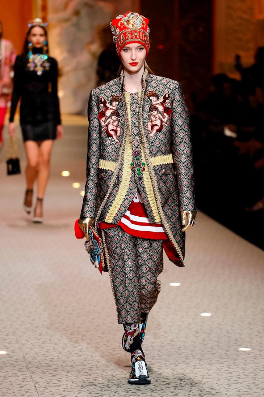 Dolce e Gabbana show AW 18-4594