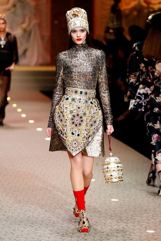 Dolce e Gabbana show AW 18-4697