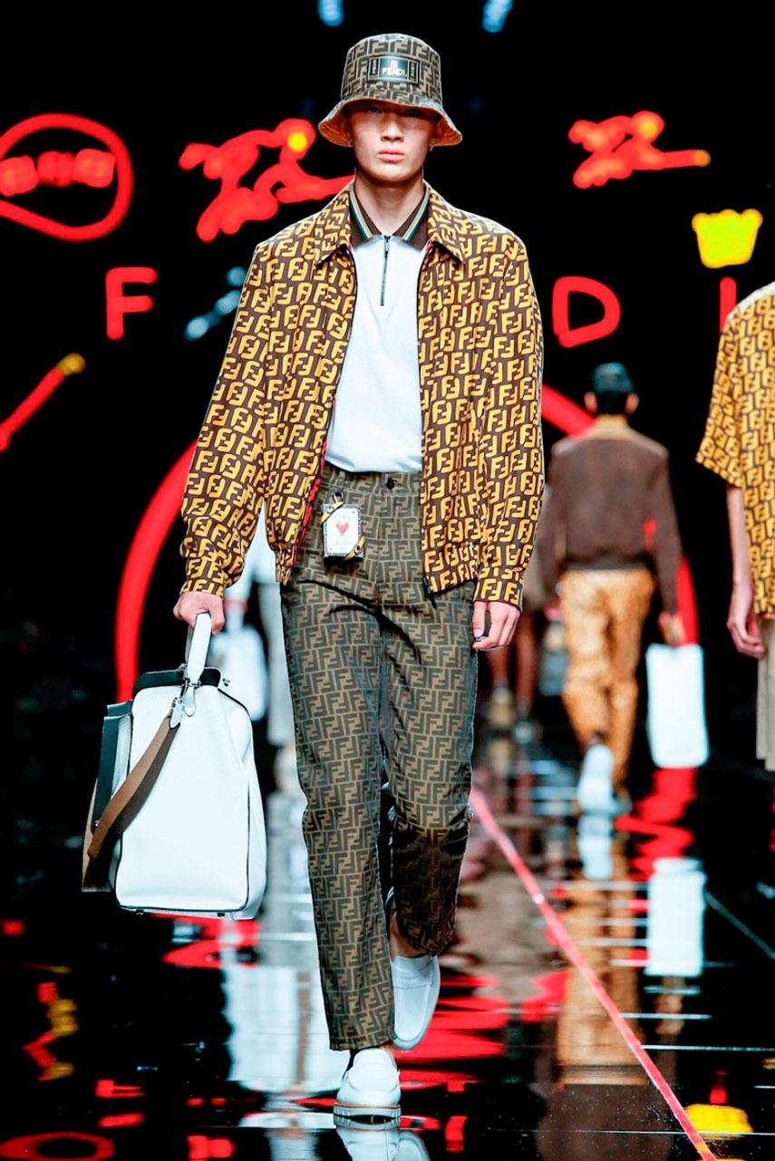 Milan Menswear: Fendi SS 19
