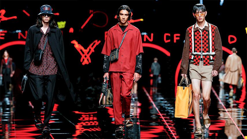 Milan Menswear Fendi SS 19