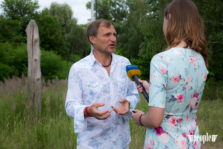 Олег Скрипка презентовал клип на песню «Дібрівонька»