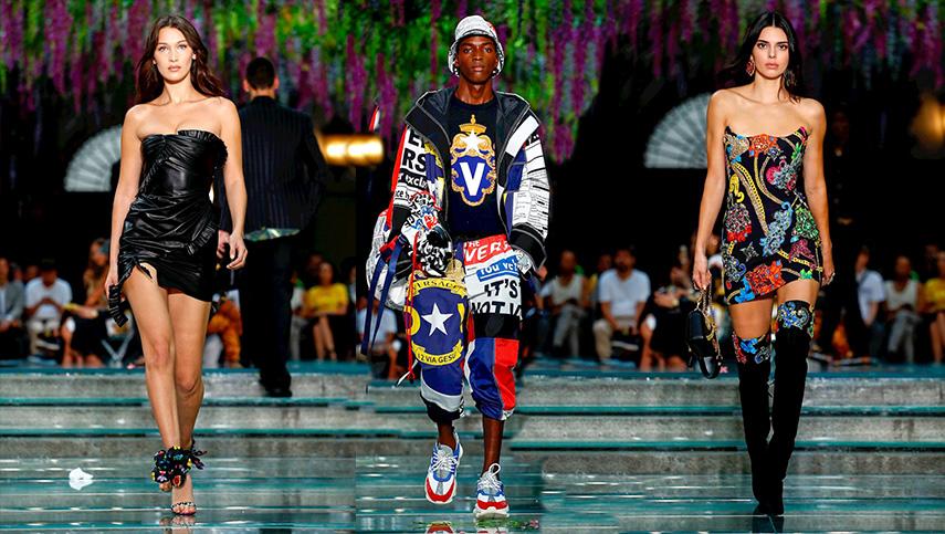 Milan Menswear Versace S/S 19