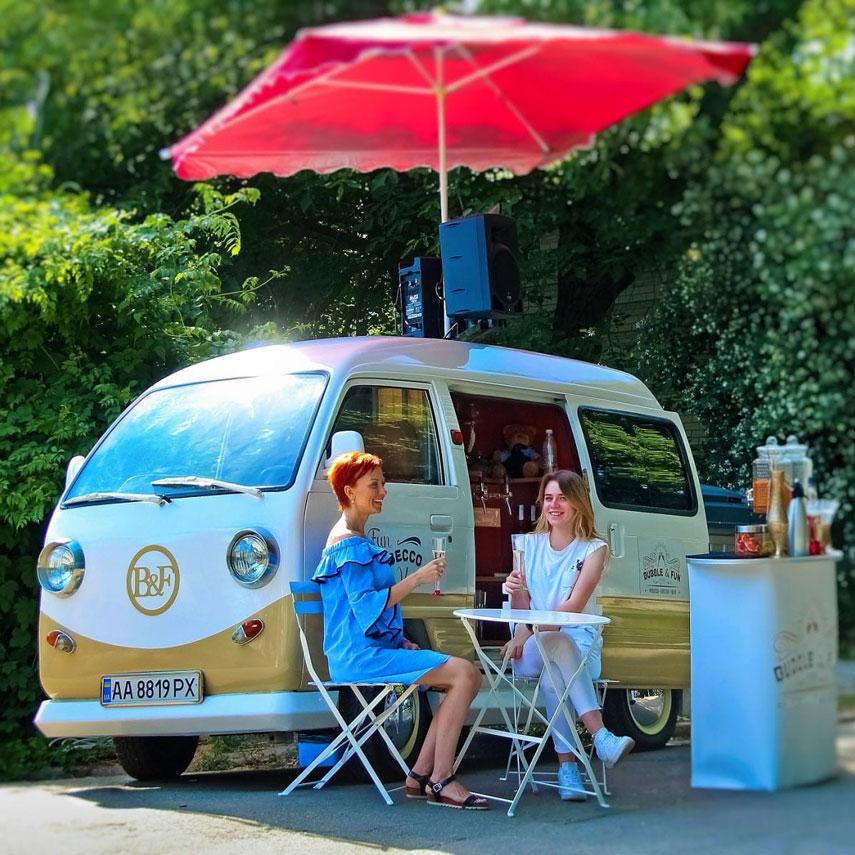 Bubble&Fun Prosecco Van