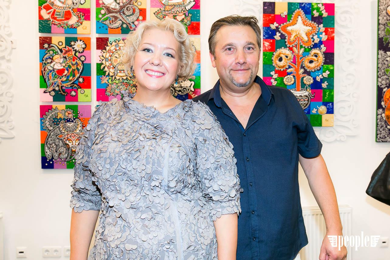 Художница Оксана Фурса: открытие персональной выставки-1