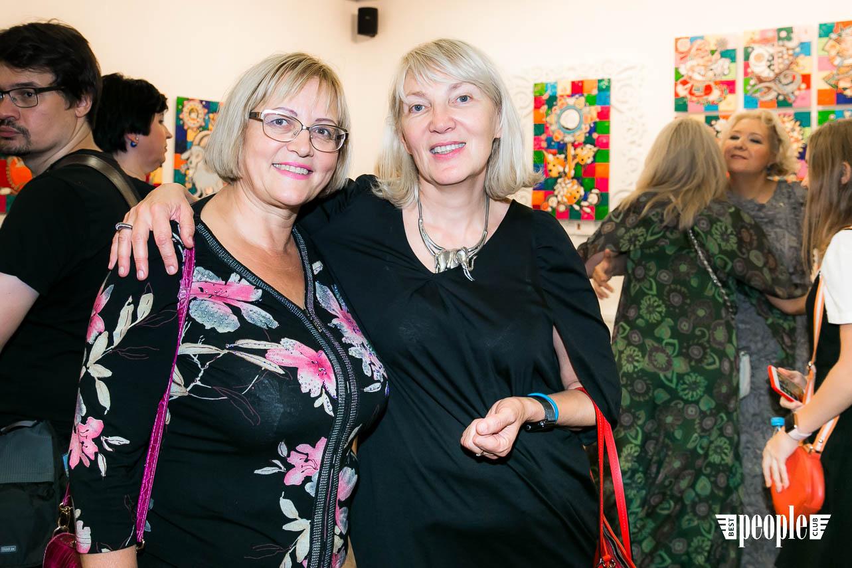 Художница Оксана Фурса: открытие персональной выставки