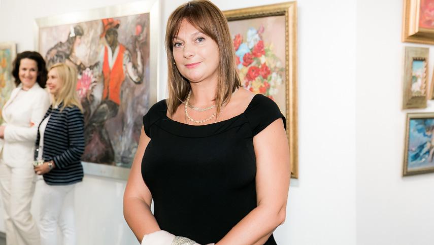 Ирина Саченко презентовала выставку «История любви»
