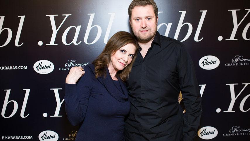 Ивана Чаббак провела public talk с украинскими актерами