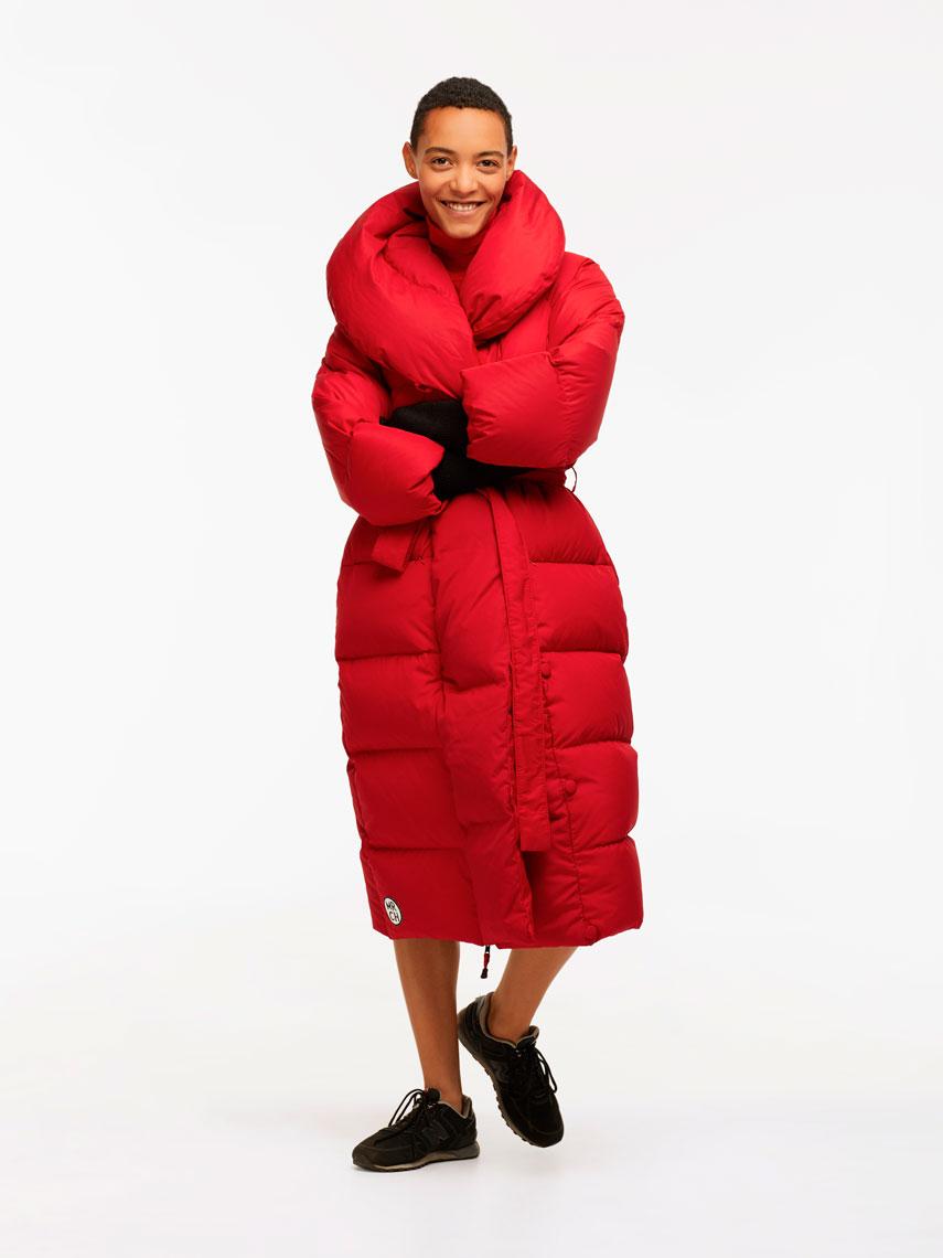 MARCHI: коллекцию пуховых курток для зимнего сезона 2019