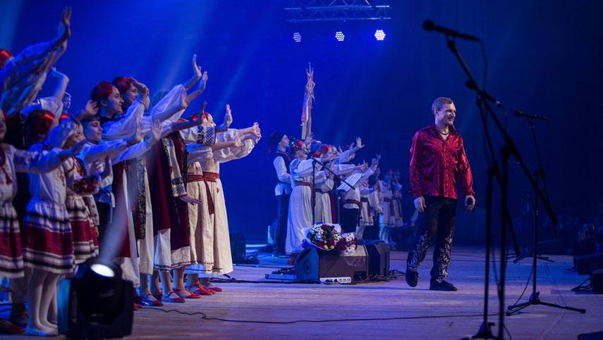 Олег Скрипка: ремикс на главную колядку