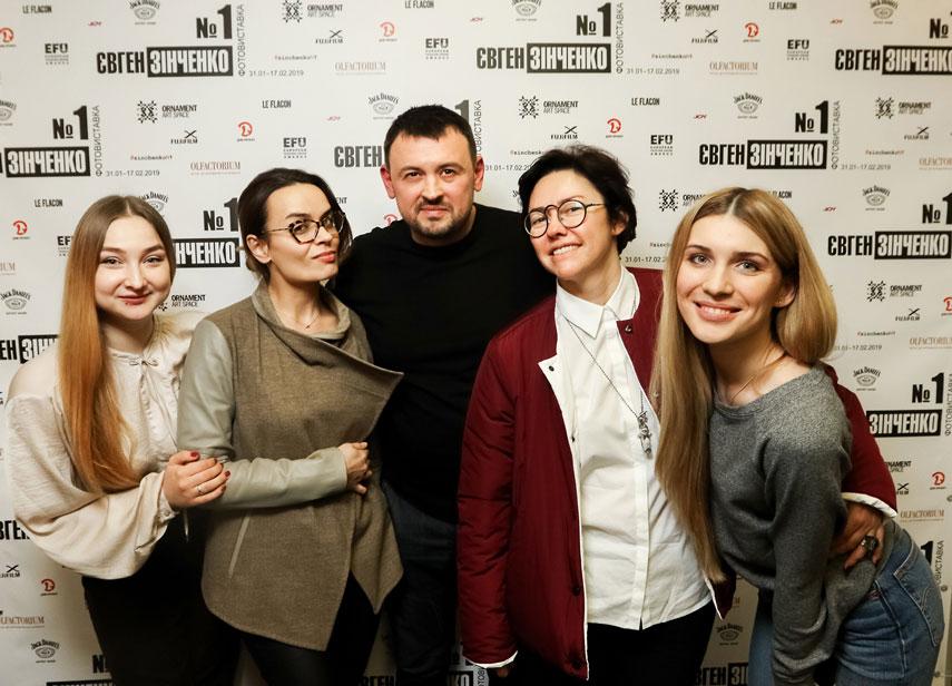 Евгений Зинченко: открытие выставки №1