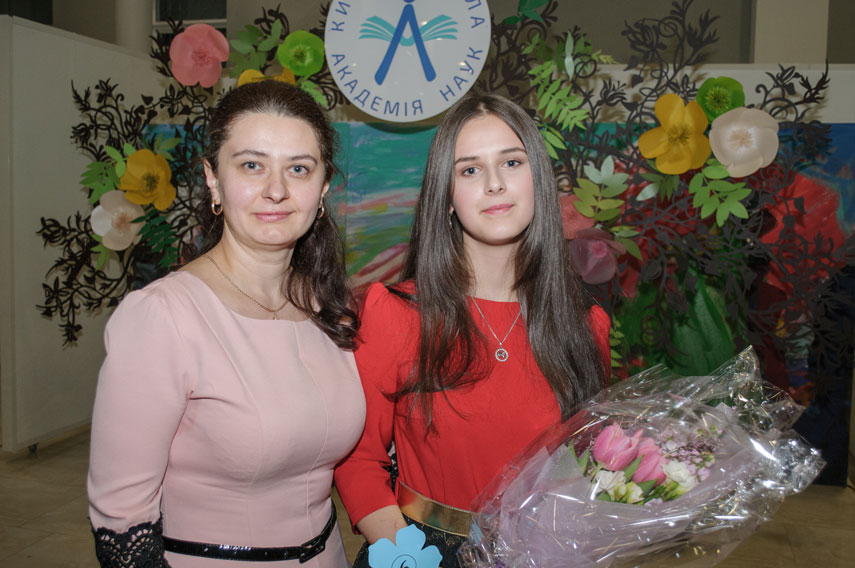 Конкурс «Розумниця-красуня Київської МАН»: праздник ума и красоты