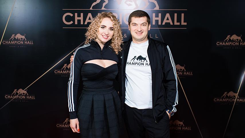 Champion Hall: грандиозное открытие