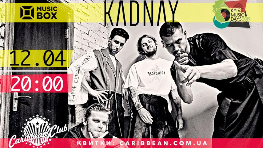 KADNAY презентует в Киеве новую пластинку