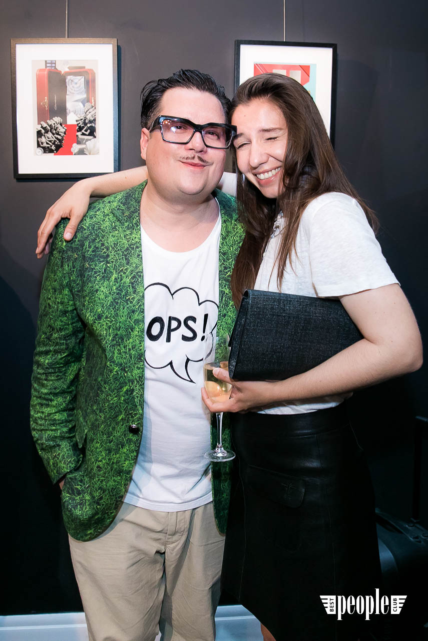 Serge Payet представил персональную выставку I am Trash в parfum büro (181)
