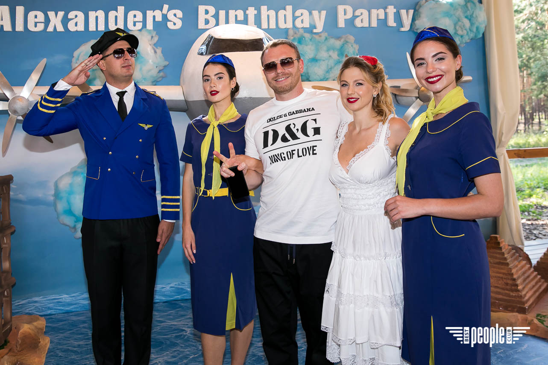 Александр Горлачотметил35-летие в стилеAirlines Show