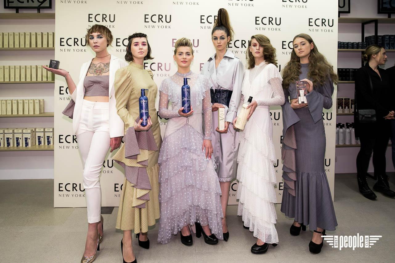 Американский косметический бренд ECRU презентован в Украине