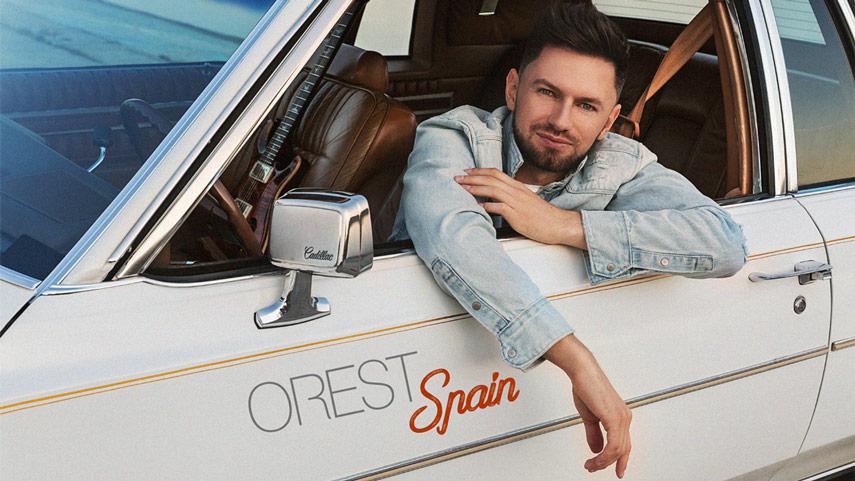 певец Orest возвращает нас в лето