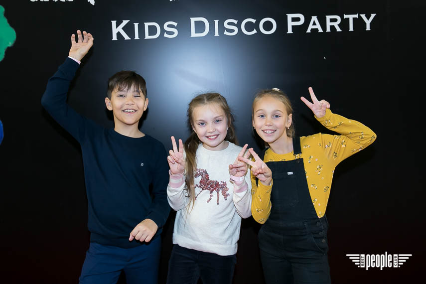 EMOTIONS KIDS DISCO PARTY: Tayana и 15 000 шаров