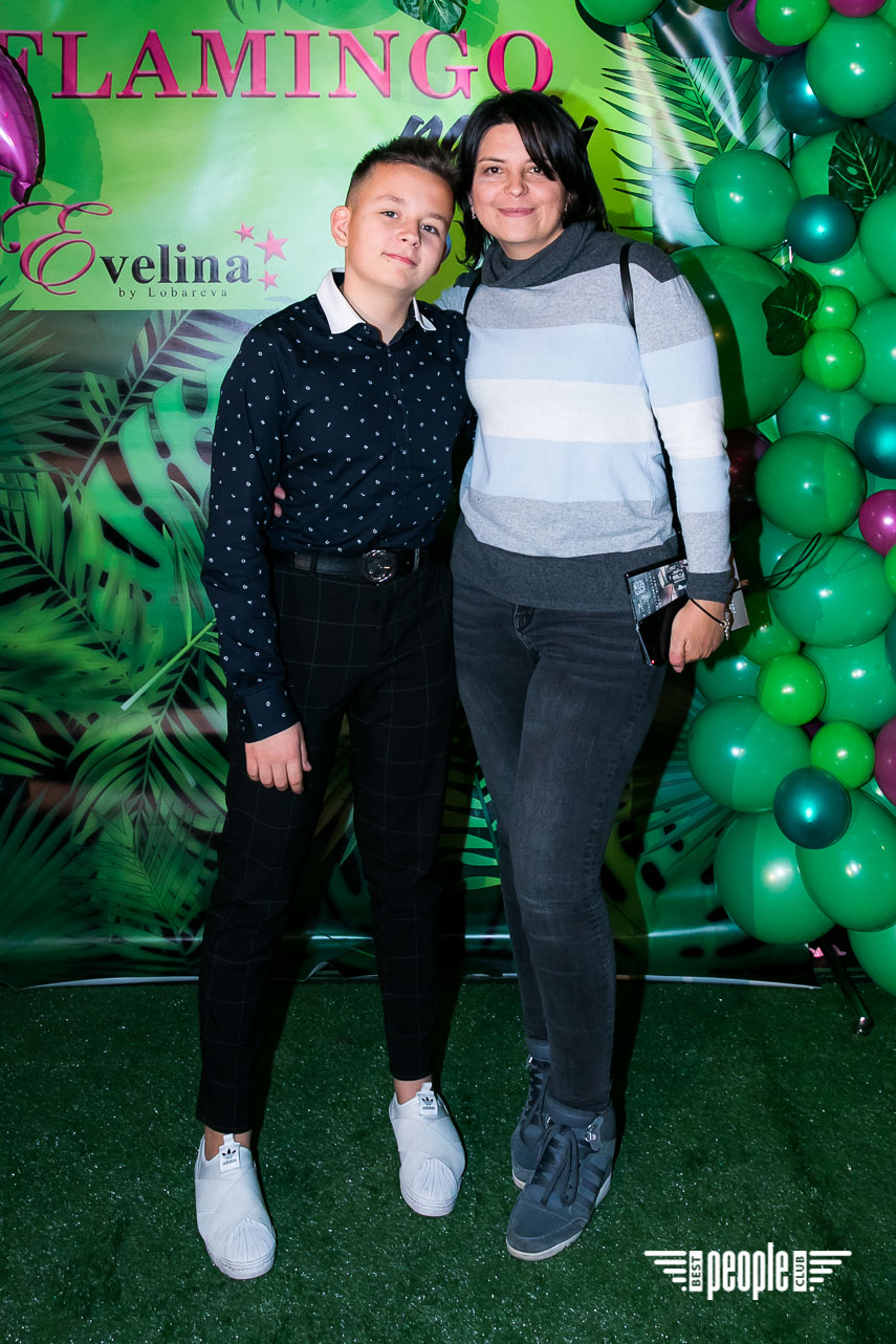 EVELINA by Lobareva FLAMINGO Party