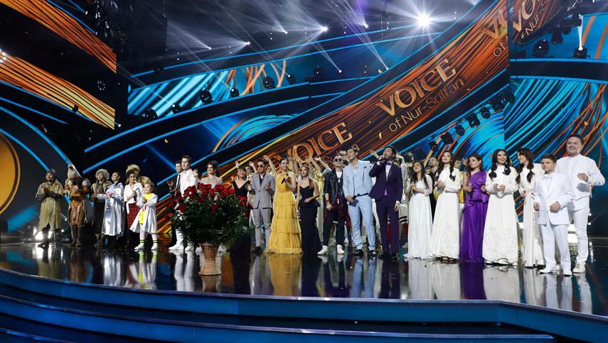 Алина Башкина покорила фестиваль Voice of Nur-Sultan