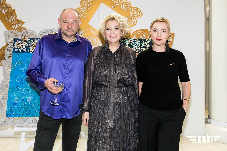 Открытие выставки #AURUM Оксаны Фурса