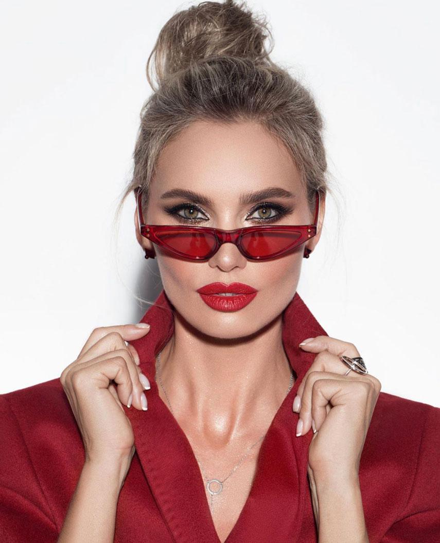 Виктория Любухина снялась в рекламе для Super Bowl