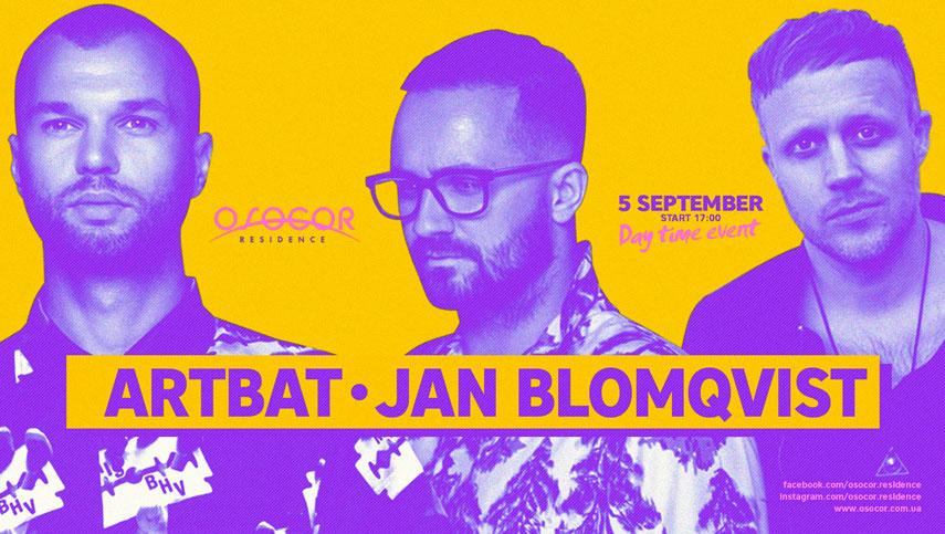 ARTBAT и Jan Blomqvist собирают друзей в Osocor Residence