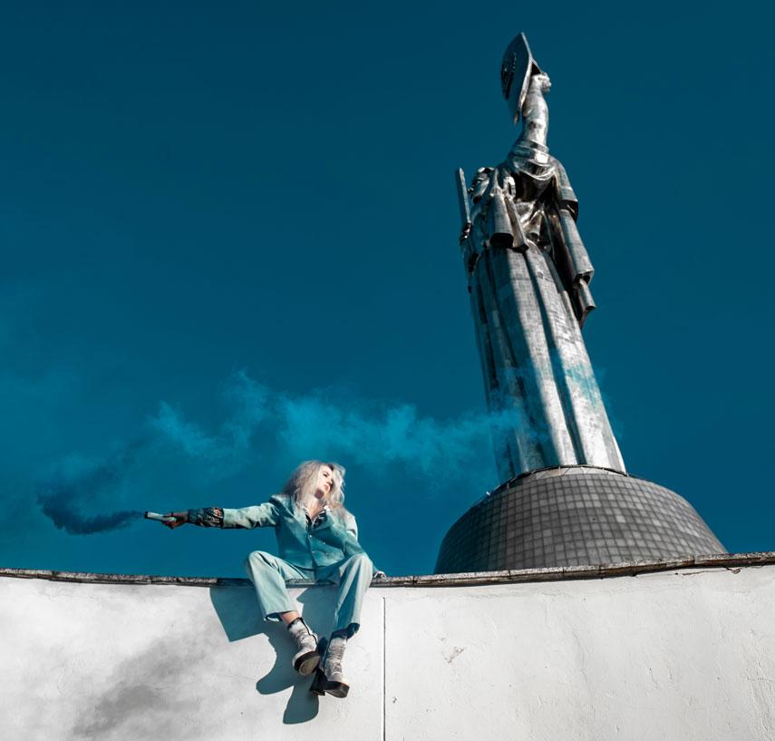 Жан Грицфельдт представил коллекцию Love Kyiv