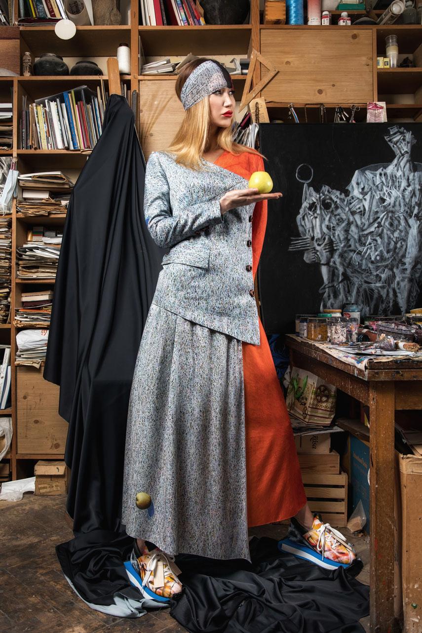 SEREBROVA & Ivan MARCHUK: Арт проект INWARD
