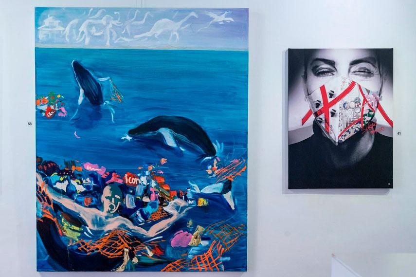 MUSA International ArtSpace и Spivakovska ART:EGO gallery открыли выставку в Риме