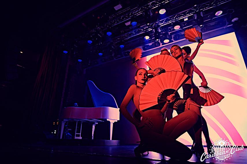 Caribbean Club приглашает на эротическое варьете «Рояль» и спектакли «Черного квадрата»