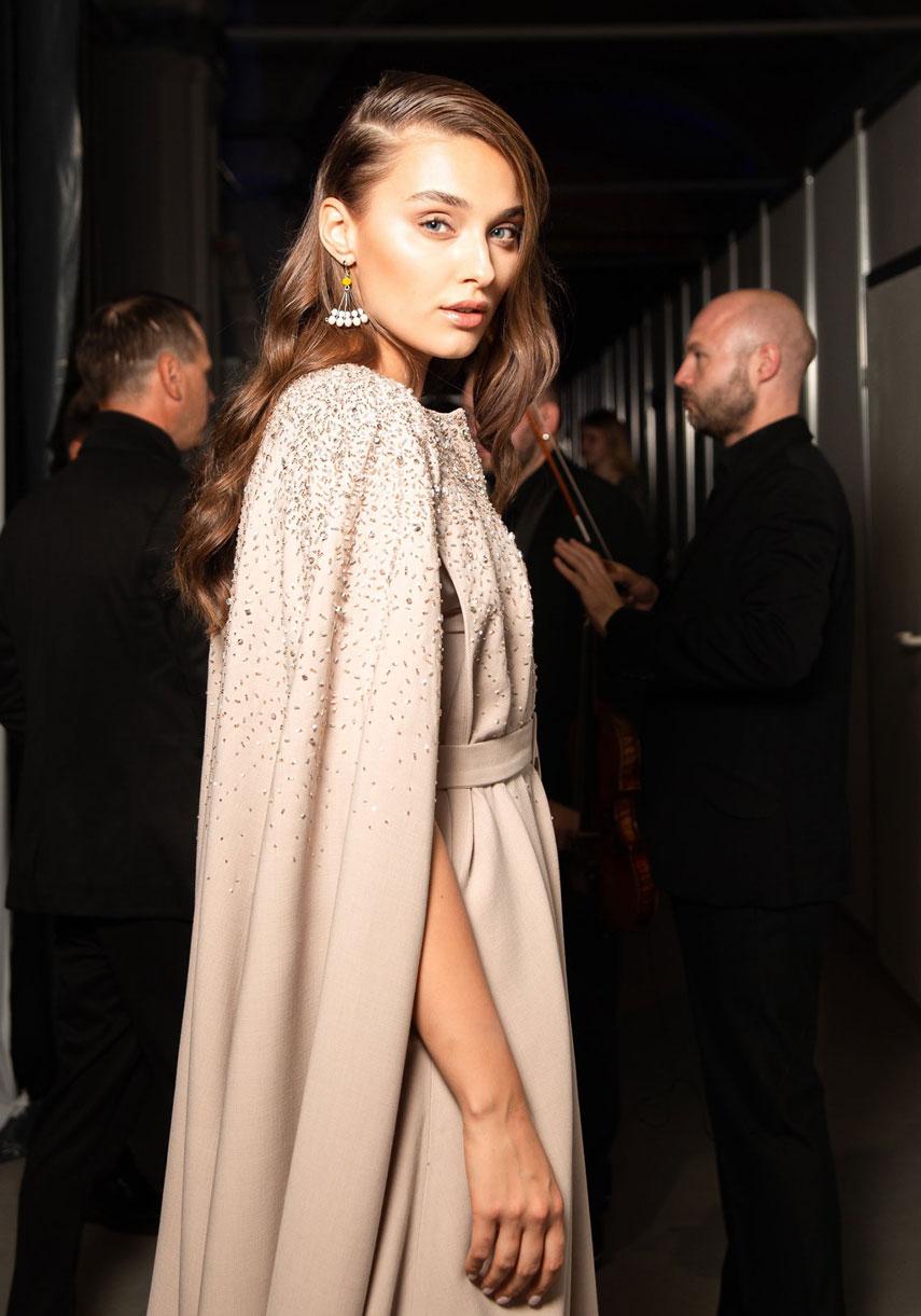 Вероника Дидусенко блистала на подиуме Ukrainian Fashion Week