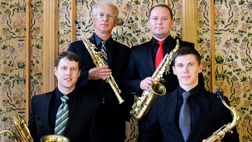 Киевский квартет саксофонистов дает джаза коронавирусу
