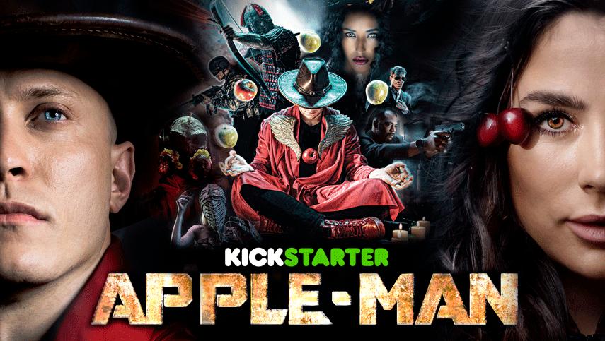 Apple-Man: трейлер первого в мире фильма про ЗОЖ-супергероев