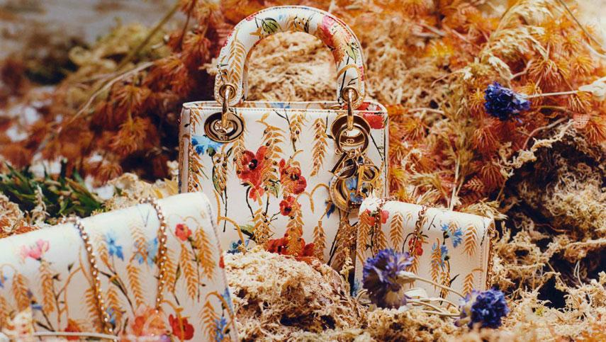 Цветочные мотивы в коллекции Dior Hibiscus