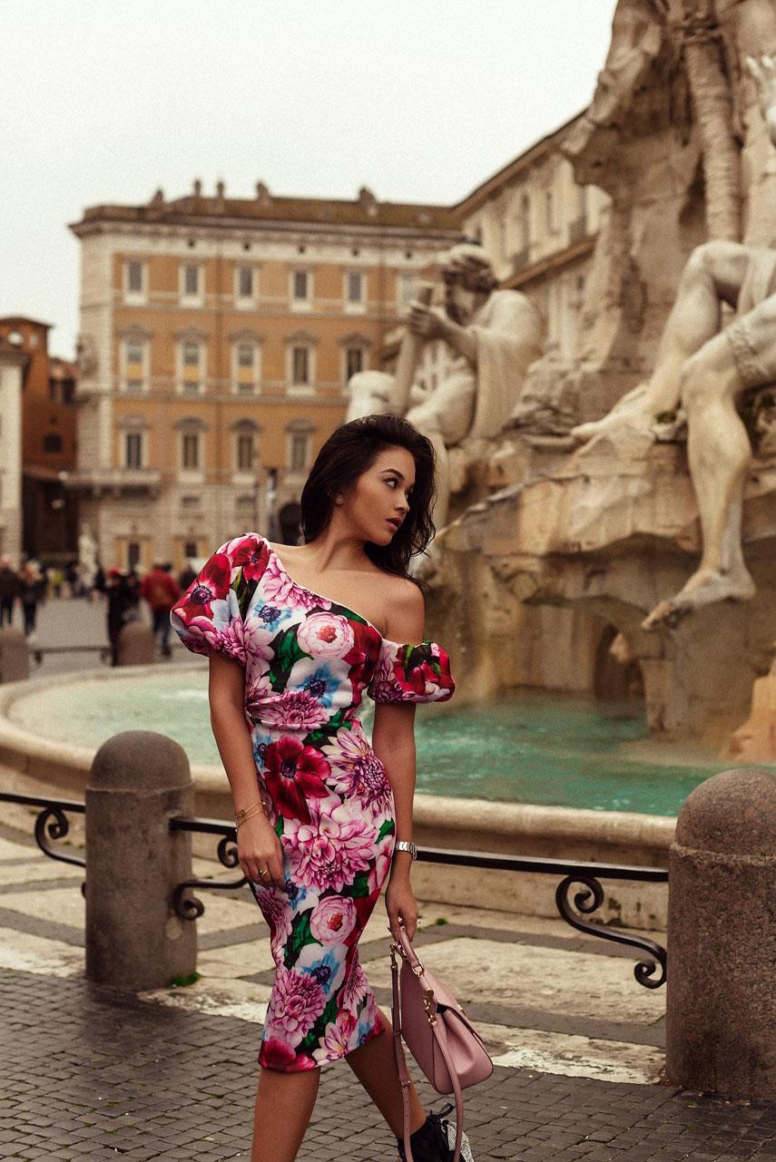Каролина Терчиева и жизнь в Риме