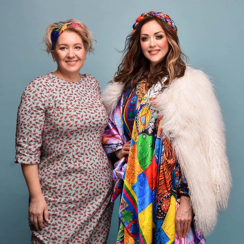 Модная коллаборация: Наталья Валевская и Оксана Фурса создали яркие образы