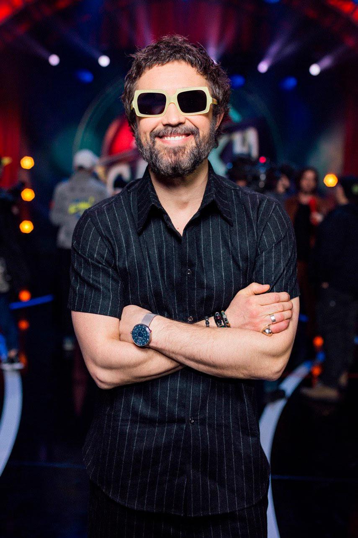Сергей Бабкин стал судьей «Лига Смеха. Битва Титанов»