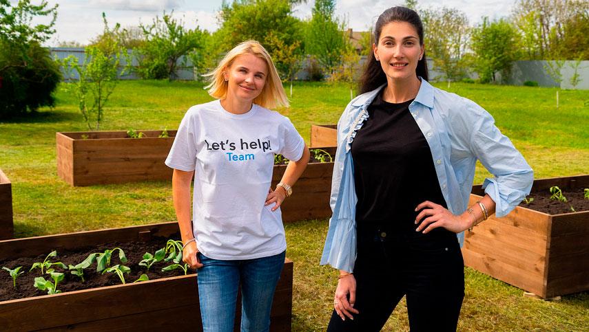 «Київ Квітучий» высадил огороды для бабушек и дедушек