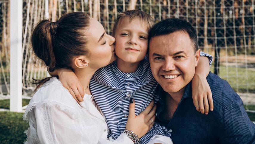 Вероника Дидусенко показала фото с Дня рождения сына