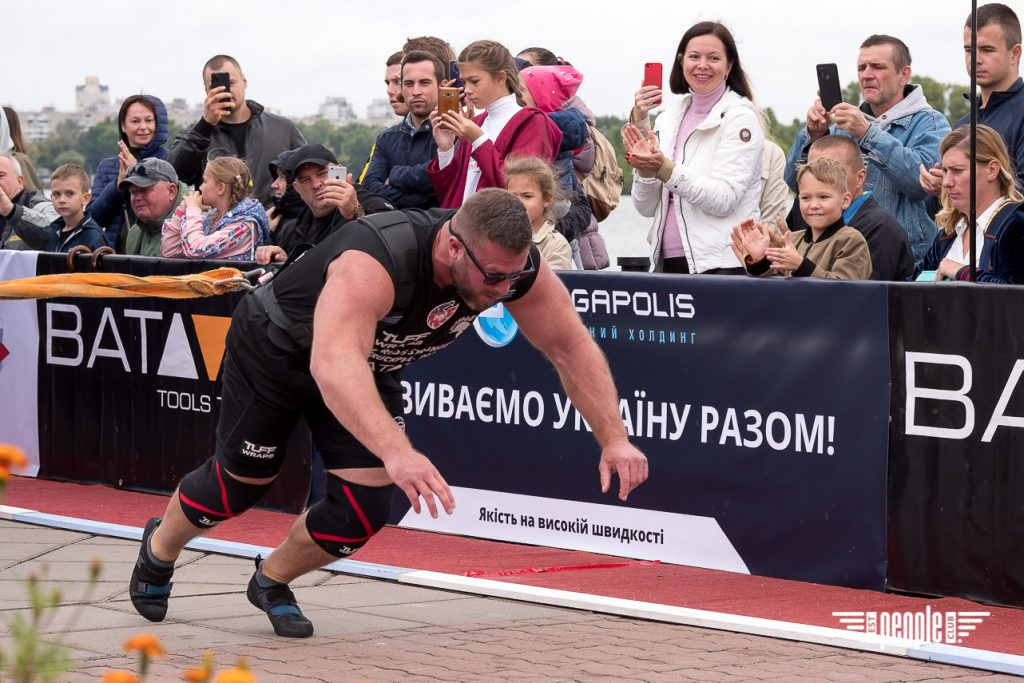 Віктор Лещинський: Чемпіоном світу із Truck Pull став справді найсильніший