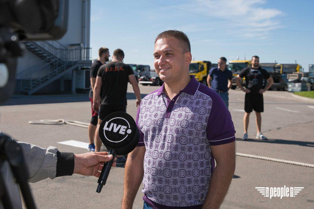 Віктор Лещинський: українські богатирі обов'язково мають стати чемпіонами світу із Truck Pull